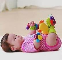 Juguetes para recién nacidos.