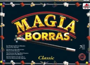 Juguetes para niños que quieren convertirse en mago.