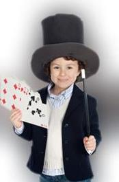 Hacer magia con niños