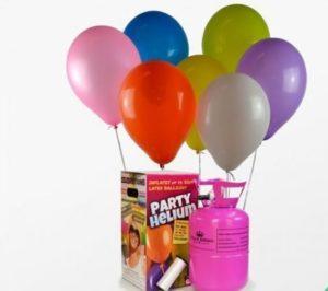 Bombonas de helio