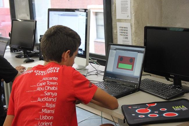 Robótica y programación para niños y niñas en Madrid