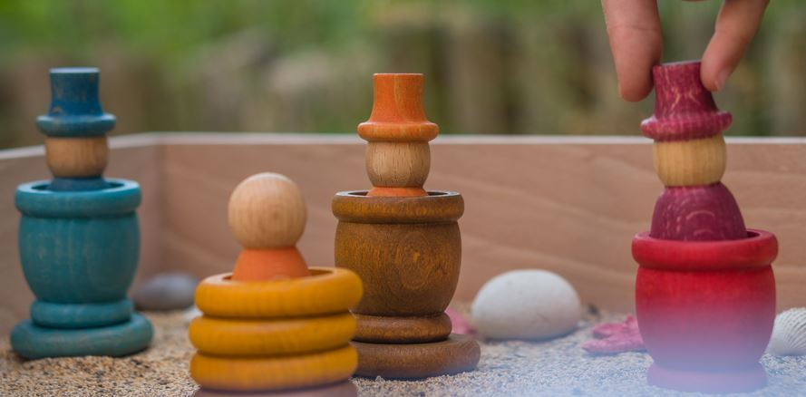 Beneficios de juguetes de madera